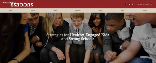 A group of students smiling in a circle. Strategies for Healthy, Engaged Kids, and Strong Schools